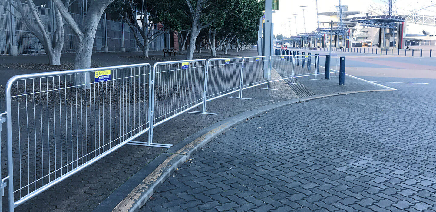 Temporary Fencing For Sale Amp Hire Crowd Control Barriers