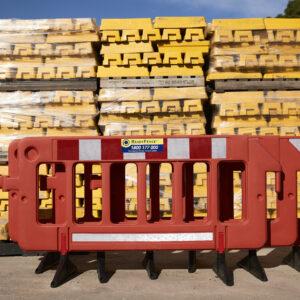 Plastic Work Zone Barrier